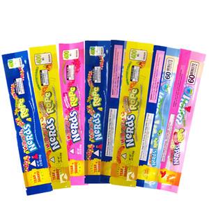 Nerds SEIL Exotic Candy Bag Nerds Rope Art vorhanden Leere Verpackung bas Nerds Seil Süßigkeit Foil Lebensmittel Gummy Taschen