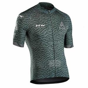 ciclismo NW Hombres camiseta de manga corta 2019 Pro Team capucha bicicleta jerseys verano ropa de ciclismo ropa transpirable ciclismo