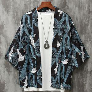 Kimono cardigan homens japonês obi masculino yukata haori masculino roupas samurai japonês roupas tradicionais