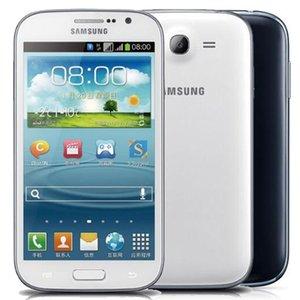 Восстановленный Оригинальный Samsung Galaxy i9082 Гранд Duos 5,0-дюймового Dual Core 1GB RAM 8GB ROM 8.0MP Dual SIM разблокирована 3G Android телефона DHL 1шта