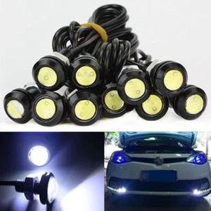 Señal Aparcamiento reserva de la luz 10pcs 9W 18mm 12V LED blanco Eagle Eye niebla del coche DRL inversa
