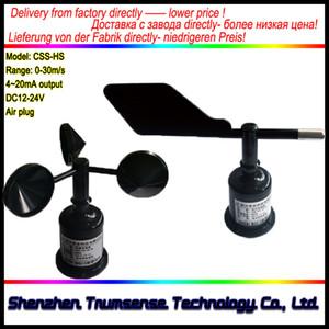 FABRİKA TEDARİK Rüzgar Yönü Sensörü + Rüzgar Hızı Sensörü RS485 / RS232 / 4-20mA / 0-5V Çoklu Güç Kaynağı ve Kullanılabilir Çıkışlar