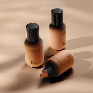 Black People Face Foundation Cream Concealer Full Coverage Matte Base Professional Makeup Skin Tone Corrector for Dark Skin