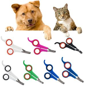 Dog prego Clippers Cat Claw Pet Nailclippers Supplies aço inoxidável Pet Nails Garra Trimmer Grooming Tesoura Cortador