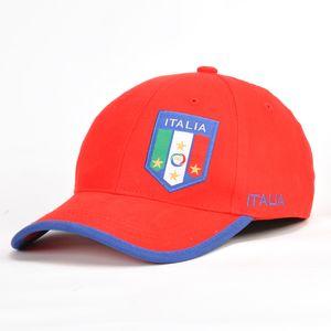 Männer Frauen nationale Fußballteam Baseball, italien Fan lässig Stickerei Visier Hut Sportkappe