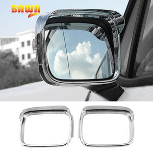 Jeep Renegade 2016-2017 용 BAWA 자동차 용 스티커 Jear Renegade 스티커 용 ABS Rearview Mirror Decoration Cover 액세서리
