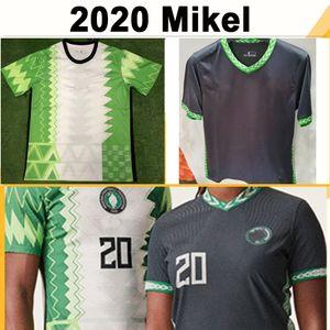 2020 новый Ахмед Муса Микель футбольные майки OKECHUKWU IHEANACHO Home Green White Away мужская футбольная рубашка национальная сборная Нигерии униформа