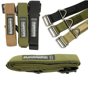 Hirigin 2017 Men's Trendy Adjustable Military Emergency Rescue Rigger Belt Casual Waistband Hot Selling Cool For Adults 125CM