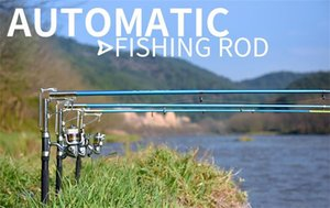 Stainless Steel sea River Lake Automatic Fishing Rod High Quality 2.1m 2.4m 2.7m Fish Pole Fishing Outdoor