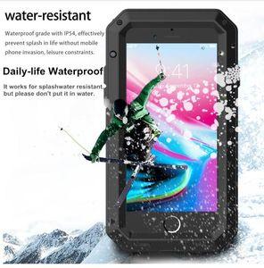 Lüks Zırh Metal Ağır Koruma Kılıfı Samsung Galaxy S5 S6 S7 Not 9 4 5 8 Kenar S8 S9 S10 Artı S10e Darbeye Kapak