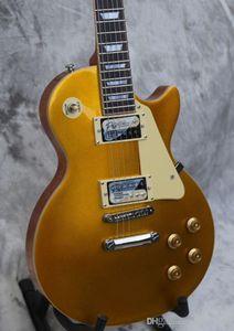 Kundenspezifische elektrische Gitarre, Goldspitze, CST GD, auf Lager, heraus schnell versendet