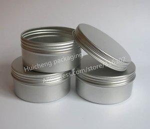 30 x 250g aluminum jars Tins Pots big aluminum case 250 cc metal cosmetic bottles cosmetic packaging containers