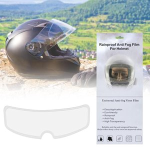 Helmet Patch Mororcycle Helmet Lens Anti-fog Patch Universal Rainproof Clear Visor Lens Film Motorcycle Accessories