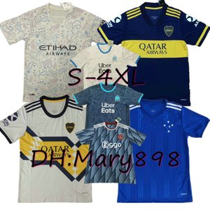 Thailand 2020 2021 Boca Juniors soccer Jersey TEVEZ MARADONA DE ROSSI CARLITOS GAGO football shirt OSVALDO PAVON PEREZ Oversized S-4XL