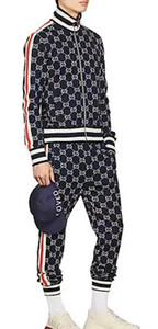 2019 nuovo designer del marchio di stampa della lettera in esecuzione maglione vestito sportivo vestito giacca giacca casuale degli uomini degli uomini Felpa con Cappuccio