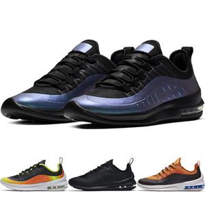 Los zapatos corrientes de los ejes Negro Blanco zapatos corrientes de los hombres respirables 98s Deportes zapatillas para caminar Zapatillas Correr Chaussures AA2148-005