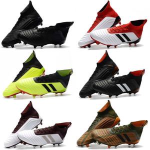 Ace Predator 18.1 FG Football Crampons Chaussures De Football Bottes Hommes Haut Haut Soccer Chaussures Meilleure Qualité Predator 18 Football Bottes