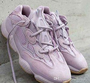 2019 Новый Дизайнер 500 Soft Vision Кроссовки Kanye West Purple Wave Runner Fashion Look Sport Sneaker