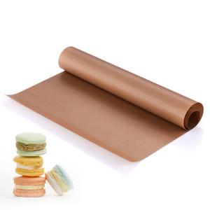 30*40cm reusable square nonstick Teflon coated glass fiber cake pastry bread baking cloth oven mat baking tools bakeware