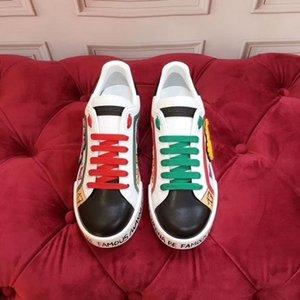 2020o de lujo hechos a medida de las zapatillas de deporte casuales de graffiti pintados a mano para hombre y mujer, elegante y versátil zapatos de fiesta de la personalidad, tamaño: m04