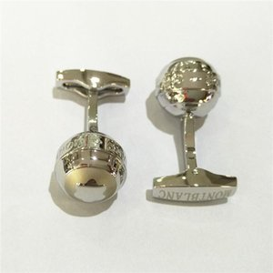 enlaces Camisa de lujo de las mancuernas Alemania MB Marca Diseño Gemelos Botones Gemelos acero de alta calidad para joyería de regalo de los hombres
