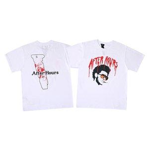 20ss Alphabet Avatar Stampato Estate Tee girocollo T-shirt High Street Skateboard Uomini manica corta Donne Travel T traspirante HFHLTX155