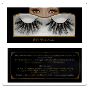 Handmade reusable 6D mink lashes 25mm natural long fasle eyelashes 10 styles available thick fake lashes makeup DHL Free