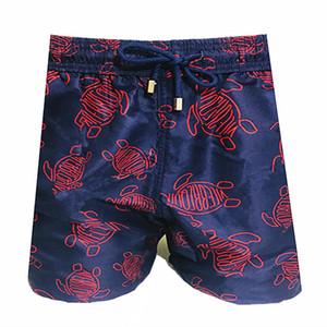Vilebrequin mens Calções de praia Vilebrequ calções 0060 marca Swimwear polvo starfish Tartaruga de impressão masculina Shorts de banho Quick secagem Vilebre