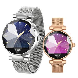 Reloj inteligente para mujer B80 Monitor de ritmo cardíaco Presión arterial Reloj inteligente Actividad física Rastreador Banda Pulsera inteligente Relojes de moda