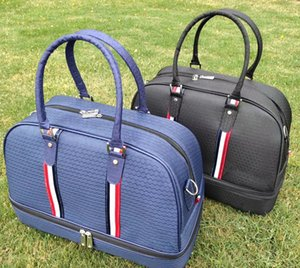 Roupa Preto Azul Golf Boston Bag Boa Qualidade Golf Bag Shoes Bag