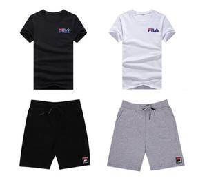 Survêtements de créateurs pour hommes Sportswear Jogging pour hommes Costumes T-shirt à manches courtes et Shorts Printemps Eté Casual Unisexe Marque Sportswear Ensembles