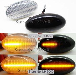2adet Dinamik LED Side Marker Işık Akıllı W450 W452 A-Class W168 Vito W639 W447 Citan W415 için Sinyal ışıkları açın