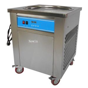 Hot verkaufen Kommerzielle Thai Fried Ice Cream Roll Machine IC-500R mit 50 cm Rund Pan Kältemittel R410A 110V-220V