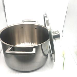 Mejor precio olla de sopa de titanio puro 2.3mm de espesor mejor olla de titanio olla utensilios de cocina de diferentes tamaños fábrica al por mayor