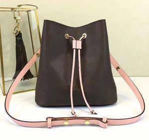 Neoneo concepteur sacs à bandoulière de luxe porte-monnaie L fleur véritable sac seau en cuir sacs à main designer femmes