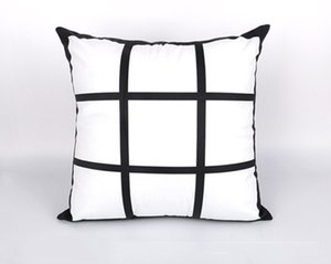 DIY 승화 9 그리드 베개는 베개 케이스 A07 인쇄 빈 pillowslip의 gridview에 열전 사 인쇄 * 45cm의 열 전달을 45CM