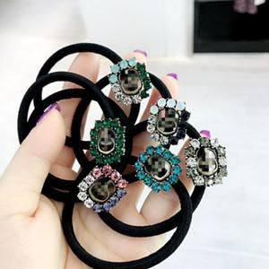 Ihr neues Multistyle elastisches Luxus-Haar-Armband mit Stempel-Designer-Brief-Haar-Seil-Luxus-Haar-Zusatz-Geschenk-Qualitäts-Frauen