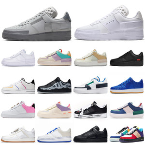 nike air force 1 af1 forces shoes shadow type one n354 tipo shadow scarpe da corsa triple nero bianco Chaussures donna mens trainer moda sport sneakers Platform