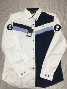 2019 побив продажи Eden Park HOMME рубашки хлопка хорошего качество Франций MEN SHIRT высокой вышивка Большого размер M -3XL EdenPark2