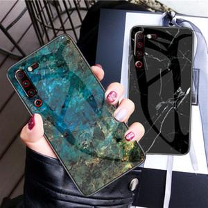 Подхожу для Lenovo Z6pro мобильного телефона защитного чехол Z6lite Z5s против падения мраморного рисунка закаленного glassdesigner случая телефона