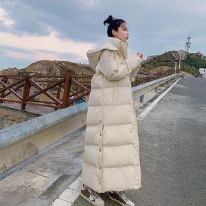 Winter Woman Jacket Parkas Warm Thicken Down Cotton Coat Female Loose Hooded Long Winter Jacket Outerwear Casaco Feminino Q2629