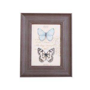 2019 Fashion Foto legno solido della decorazione della casa Parete Picture Frame Crafts Murales Cornici Accessori Ornamenti