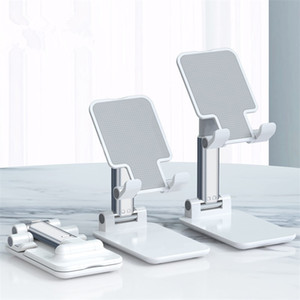 Metall-Desktop-Telefon-Halter-Tablet Ständer für iPhone Samsung Handys Universal Desktop Halter Teleskop Einstellbare Höhe