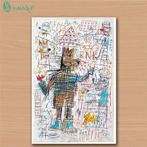 Jean Michel Basquiat -8, HD-Leinwanddruck Home Decor Art Painting / (Ungerahmt / gerahmt)
