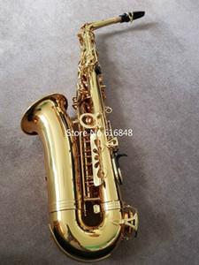 JUPITER JAS-767 Alto Eb Brass Tone Saxophone VERNI Instrument de haute qualité E-plat Sax Avec Embouchure Gants de cas Livraison gratuite