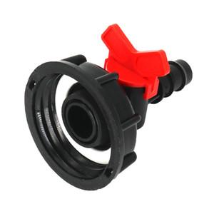 IBC Wassertank 2inch buttress BSP Adapter 1/2 Zoll (16 mm) 3/4 Zoll 1 Zoll hosetail barbed Irrigationsventil tap camlock freier Versand
