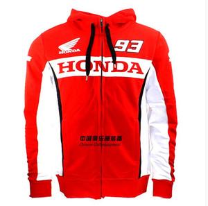 Новый Motogp HONDA 93 мотоцикл с капюшоном куртка спортивный костюм случайных свитер