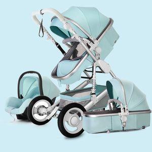 3 في 1 أنظمة السفر للحديث حديثي الولادة، مواد متعددة الوظائف / عربة أطفال، عربة طفل لمدة 0-3 سنوات من العمر
