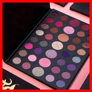 Nuevo maquillaje de ojos 39S, paleta de sombras de ojos mate, 39 colores, una gema, brillo, brillo, brillo, sombra de ojos, por epacket