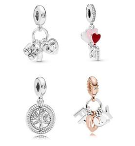 2019 Fête des Mères Mon petit bébé Charm Hanging FITS Charms Bracelet Pandora 925 argent sterling Perles originales en vrac pour bijoux